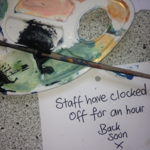 Staff have Clocked Off at Rantingparents.com